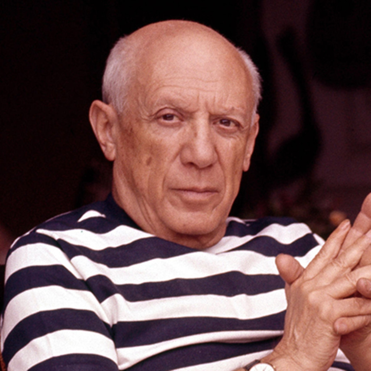pablo-picasso-at-his-home-in-cannes-circa-1960-photo-by ...